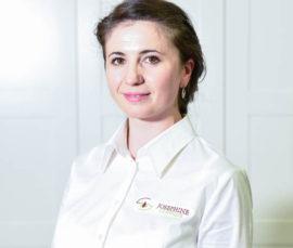 Nutriţionist Natalia Șandru